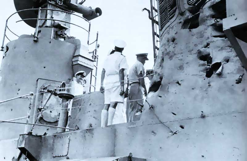 HOBART Battle Damage