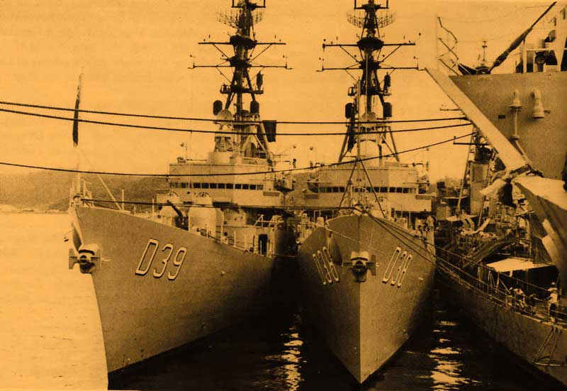 HOBART & PERTH Subic Bay 1968