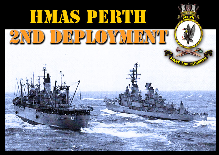HMAS PERTH RAS with USNS Vietnam