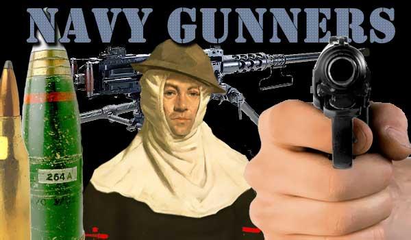 Navy Gunners and Saint Barbara | GUN PLOT