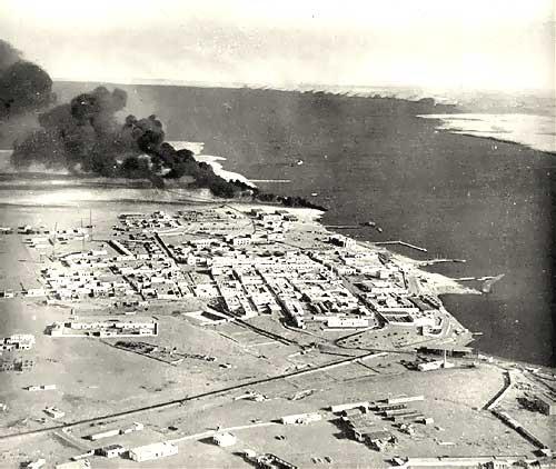 Tobruk Harbour under Attack