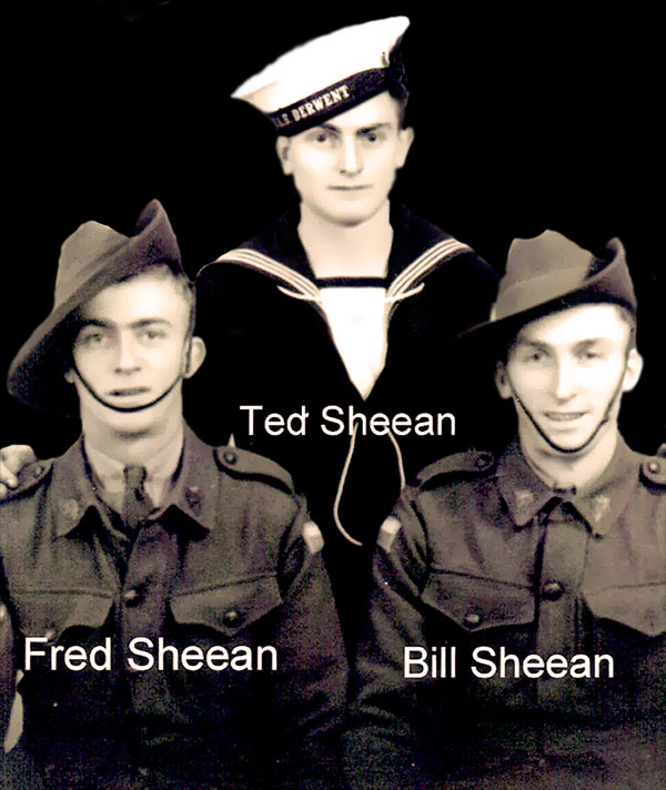 The Sheean Brothers - WW2