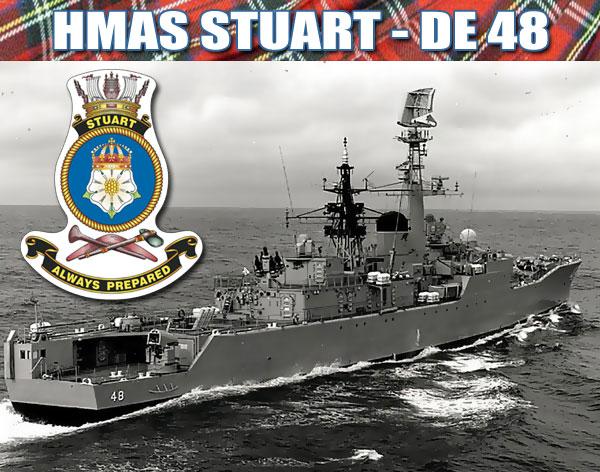 HMAS STUART DE 48