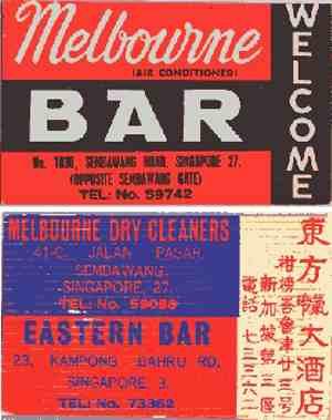 Melbourne Bar Singapore